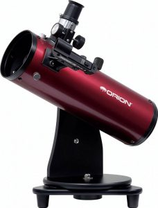 Tabletop beginner telescope
